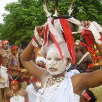Spectacle de l'ensemble Nkrabea Dance du Ghana - CIVAUX